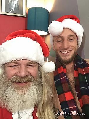Corey & Santa Wild