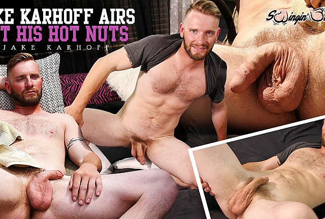 Jake Karhoff Airs Out His Hot Nuts