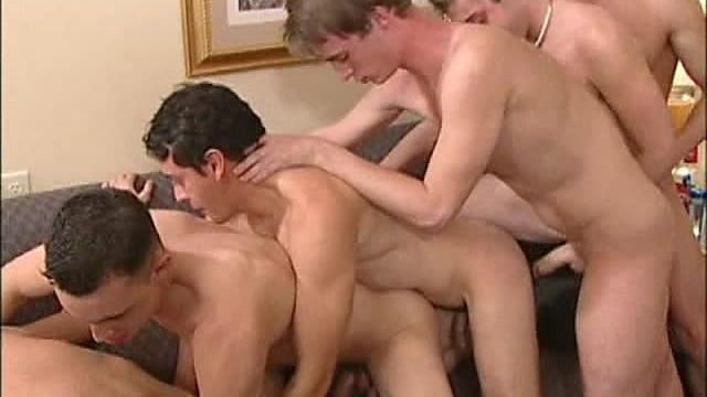 Pledging XXX Frat Boys Scene 3